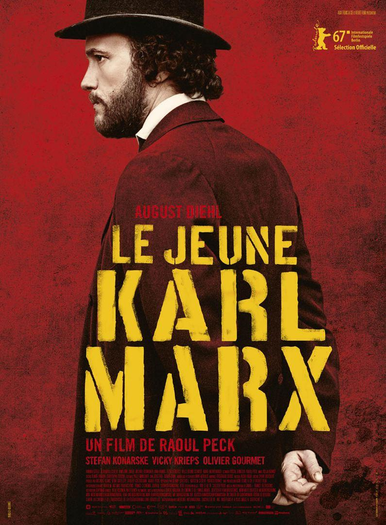 Affiche Le jeune Karl Marx